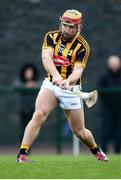 15 January 2017; Richie Hogan of Kilkenny shoots to score a second half goal during the Bord na Mona Walsh Cup Group 2 Round 2 match between Kilkenny and Antrim at Abbotstown GAA Ground in Abbotstown, Co Dublin. Photo by Cody Glenn/Sportsfile