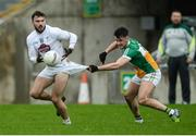15 January 2017; Fergal Conway of Kildare in action against Eoin Carroll of Offaly during the Bord na Mona O'Byrne Cup Group 2 Round 3 match between Offaly and Kildare at O'Connor Park in Tullamore, Co Offaly. Photo by Piaras Ó Mídheach/Sportsfile