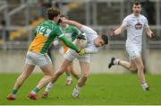 15 January 2017; David Hyland of Kildare in action against Michael Brazil of Offaly during the Bord na Mona O'Byrne Cup Group 2 Round 3 match between Offaly and Kildare at O'Connor Park in Tullamore, Co Offaly. Photo by Piaras Ó Mídheach/Sportsfile