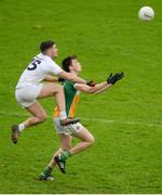 15 January 2017; James Lalor of Offaly in action against Ben McCormack of Kildare during the Bord na Mona O'Byrne Cup Group 2 Round 3 match between Offaly and Kildare at O'Connor Park in Tullamore, Co Offaly. Photo by Piaras Ó Mídheach/Sportsfile