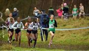 14 January 2017; Fionnuala McCormack of Ireland leading during the Senior Womens race at the Antrim International Cross Country at the Greenmount Campus, Stormont, Co. Antrim. Photo by Oliver McVeigh/Sportsfile