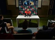 18 January 2017; Conor Murray of Munster during a press conference at University of Limerick in Limerick. Photo by Seb Daly/Sportsfile