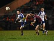 18 January 2017; Conor McManus of Monaghan in action against Brian Og McGilligan of St Mary's during the Bank of Ireland Dr. McKenna Cup Section B Round 3 match between Monaghan and St Mary's at Inniskeen in Co. Monaghan. Photo by Philip Fitzpatrick/Sportsfile