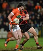 18 January 2017; Aaron Findon of Armagh during the Bank of Ireland Dr. McKenna Cup Section A Round 3 match between Armagh and Down at the Athletic Grounds in Armagh. Photo by Oliver McVeigh/Sportsfile