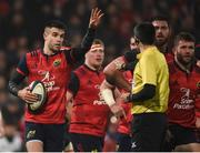 21 January 2017; Conor Murray of Munster during the European Rugby Champions Cup Pool 1 Round 6 match between Munster and Racing 92 at Thomond Park in Limerick. Photo by Diarmuid Greene/Sportsfile
