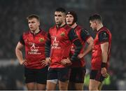 21 January 2017; Munster players Rory Scannell, left, Conor Murray, centre, Tyler Bleyendaal, behind, and Ronan O'Mahony during the European Rugby Champions Cup Pool 1 Round 6 match between Munster and Racing 92 at Thomond Park in Limerick. Photo by Diarmuid Greene/Sportsfile