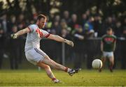 22 January 2017; Rob Hennelly of Mayo during the Connacht FBD League Section A Round 3 match between Roscommon and Mayo at St. Brigids GAA in Kiltoom, Co. Roscommon.  Photo by Ramsey Cardy/Sportsfile