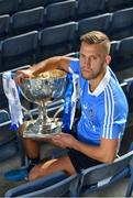 23 January 2017; In attendance at the 2017 Allianz Football League Launch in Croke Park is Jonny Cooper of Dublin. All-Ireland champions Dublin will begin their Allianz league defence against Cavan on February 5th at 2pm. Visit www.allianz.ie for more. Photo by Brendan Moran/Sportsfile