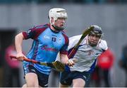 24 January 2017; Jarlath Mannion of GMIT in action against Michael O'Neill of Mary Immaculate College Limerick during the Independent.ie HE Fitzgibbon Cup Group A Round 1 match between Mary Immaculate College Limerick and GMIT at the MICL Grounds in Limerick. Photo by Diarmuid Greene/Sportsfile