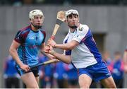 24 January 2017; Aaron Gillane of Mary Immaculate College Limerick in action against Joseph Mooney of GMIT during the Independent.ie HE Fitzgibbon Cup Group A Round 1 match between Mary Immaculate College Limerick and GMIT at the MICL Grounds in Limerick. Photo by Diarmuid Greene/Sportsfile