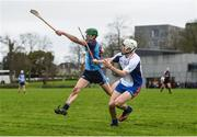 24 January 2017; Aaron Gillane of Mary Immaculate College Limerick in action against Brendan Toohey of GMIT during the Independent.ie HE Fitzgibbon Cup Group A Round 1 match between Mary Immaculate College Limerick and GMIT at the MICL Grounds in Limerick. Photo by Diarmuid Greene/Sportsfile