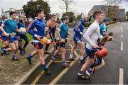 24 January 2017; The Mary Immaculate College team make their way back to the dressing room ahead of the Independent.ie HE Fitzgibbon Cup Group A Round 1 match between Mary Immaculate College Limerick and GMIT at the MICL Grounds in Limerick. Photo by Diarmuid Greene/Sportsfile