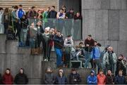 24 January 2017; Spectators during the Independent.ie HE Fitzgibbon Cup Group A Round 1 match between Mary Immaculate College Limerick and GMIT at the MICL Grounds in Limerick. Photo by Diarmuid Greene/Sportsfile