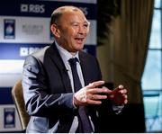 25 January 2017; England Head Coach Eddie Jones in attendance at the 2017 RBS Six Nations Rugby Championship Launch at The Hurlingham Club in London. Photo by Paul Harding/Sportsfile