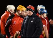 25 January 2017; Cork manager Kieran Kingston before the Co-Op Superstores Munster Senior Hurling League Round 5 match between Clare and Cork at O'Garney Park in Sixmilebridge, Co Clare. Photo by Diarmuid Greene/Sportsfile