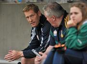 25 June 2011; Graham Geraghty, Meath, sits in the dug out before the start of the game. GAA Football All-Ireland Senior Championship Qualifier Round 1, Louth v Meath, Kingspan Breffni Park, Co. Cavan. Picture credit: David Maher / SPORTSFILE