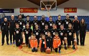 28 January 2017; The EJ Sligo All Stars team prior to the Hula Hoops President's Cup Final match between Neptune and EJ Sligo All Stars at National Basketball Arena in Tallaght, Co. Dublin. Photo by Brendan Moran/Sportsfile