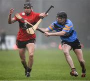 2 February 2017; Shane Roche of UCC in action against James Maher of UCD during the Independent.ie HE GAA Fitzgibbon Cup Group D Round 2 match between University College Dublin v University College Cork at UCD, Belfield, Dublin. Photo by Cody Glenn/Sportsfile
