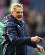 4 February 2017; Ireland head coach Joe Schmidt ahead of the RBS Six Nations Rugby Championship match between Scotland and Ireland at BT Murrayfield Stadium in Edinburgh, Scotland. Photo by Ramsey Cardy/Sportsfile
