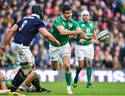 4 February 2017; Conor Murray of Ireland in action against Josh Strauss of Scotland during the RBS Six Nations Rugby Championship match between Scotland and Ireland at BT Murrayfield Stadium in Edinburgh, Scotland. Photo by Brendan Moran/Sportsfile