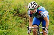 25 June 2011; Fran Meehan, Tullamore, in action during the Elite Women's Road Race National Championships. Scotstown, Co. Monaghan. Picture credit: Stephen McMahon / SPORTSFILE