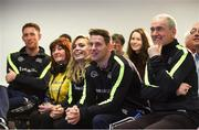 4 February 2017; Connacht Healthy Club Roadshow - inspiring GAA clubs to become hubs for health. Pictured at the launch leading the call out for increased participation in the programme are Mickey Harte, manager of the Tyrone senior inter-county team, Philly McMahon, Gaelic footballer for Dublin and Ballymun Kickhams and Anna Geary, former Cork camogie captain. Exemplar Healthy Clubs such as Achill GAA, Mayo, Melvin Gaels GAA, Leitrim, Ballinderreen GAA, Galway and Aghamore GAA, Mayo, encouraged and inspired other Connacht clubs to support their communities in pursuit of better physical and mental wellbeing. For more information, visit: www.gaa.ie/community Follow: @officialgaa or Like: www.facebook.com/officialgaa/. Ballyhaunis Centre of Excellence, Mayo. Photo by Matt Browne/Sportsfile