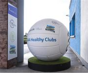 4 February 2017; Branding at the Connacht Healthy Club Roadshow - inspiring GAA clubs to become hubs for health. Pictured at the launch leading the call out for increased participation in the programme. Exemplar Healthy Clubs such as Achill GAA, Mayo, Melvin Gaels GAA, Leitrim, Ballinderreen GAA, Galway and Aghamore GAA, Mayo, encouraged and inspired other Connacht clubs to support their communities in pursuit of better physical and mental wellbeing. For more information, visit: www.gaa.ie/community Follow: @officialgaa or Like Photo by Matt Browne/Sportsfile