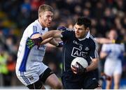 5 February 2017; Kevin McManamon of Dublin in action against Rory Dunne of Cavan during the Allianz Football League Division 1 Round 1 match between Cavan and Dublin at Kingspan Breffni Park in Cavan. Photo by Philip Fitzpatrick/Sportsfile