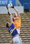 5 February 2017; Matthew Fitzpatrick of Antrim in action against Alan Campbell of Tipperary during the Allianz Football League Division 3 Round 1 match between Tipperary and Antrim at Semple Stadium in Thurles, Co. Tipperary. Photo by Matt Browne/Sportsfile