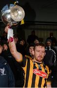5 February 2017; Richie Hogan of Kilkenny lifts the Walsh Cup following his side's victory during the Bord na Mona Walsh Cup Final match between Kilkenny and Galway at Nowlan Park in Kilkenny. Photo by Seb Daly/Sportsfile