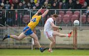 5 February 2017; Conor Meyler of Tyrone in action against John McManus of Roscommon during the Allianz Football League Division 1 Round 1 match between Tyrone and Roscommon at Healy Park in Omagh, Co. Tyrone. Photo by Oliver McVeigh/Sportsfile