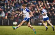 4 February 2017; Kieran Hughes of Monaghan during the Allianz Football League Division 1 Round 1 match between Mayo and Monaghan at Elverys MacHale Park in Castlebar, Co Mayo. Photo by Stephen McCarthy/Sportsfile