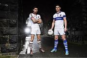 6 February 2017; St Vincent's Diarmuid Connolly, right, is pictured alongside Chrissy McKaigue from Slaughtneil ahead of their clash in the AIB GAA Senior Football Club Championship Semi Final on February 11th. For exclusive content and behind the scenes action from the Club Championships follow AIB GAA on Twitter and Instagram @AIB_GAA and facebook.com/AIBGAA. Photo by Ramsey Cardy/Sportsfile