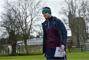 6 February 2017; Jonathan Sexton of Ireland arrives for squad training at Carton House in Maynooth, Co. Kildare. Photo by Ramsey Cardy/Sportsfile