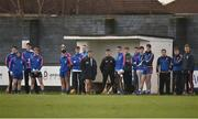 7 February 2017; The Mary Immaculate College Limerick bench during the Independent.ie HE GAA Fitzgibbon Cup Group A Round 3 match between Dublin Institute of Technology and Mary Immaculate College Limerick at Grangegorman in Dublin. Photo by Cody Glenn/Sportsfile