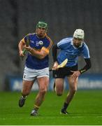 11 February 2017; John O'Dwyer of Tipperary in action against Shane Barrett of Dublin during the Allianz Hurling League Division 1A Round 1 match between Dublin and Tipperary at Croke Park in Dublin. Photo by Ray McManus/Sportsfile
