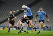 11 February 2017; Brendan Maher of Tipperary in action against Liam Rushe of Dublin during the Allianz Hurling League Division 1A Round 1 match between Dublin and Tipperary at Croke Park in Dublin. Photo by Daire Brennan/Sportsfile