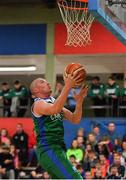 11 February 2017; Kieran Donaghy of Garvey's Tralee Warriors in action against Pryobel Killester during the Basketball Ireland Super League game between Garvey's Tralee Warriors and Pyrobel Killester at Tralee Sports Complex in Tralee, Co. Kerry. Photo by Brendan Moran/Sportsfile