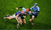 11 February 2017; Steven O'Brien of Tipperary in action against Ryan O'Dwyer of Dublin during the Allianz Hurling League Division 1A Round 1 match between Dublin and Tipperary at Croke Park in Dublin. Photo by Daire Brennan/Sportsfile