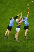 11 February 2017; Brendan Maher of Tipperary in action against Dónal Burke, left, and Rian McBride of Dublin during the Allianz Hurling League Division 1A Round 1 match between Dublin and Tipperary at Croke Park in Dublin. Photo by Daire Brennan/Sportsfile