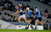 11 February 2017; Steven O'Brien of Tipperary in action against Shane Barrett of Dublin during the Allianz Hurling League Division 1A Round 1 match between Dublin and Tipperary at Croke Park in Dublin. Photo by Daire Brennan/Sportsfile