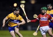11 February 2017; Tony Kelly of Clare in action against Daniel Kearney of Cork during the Allianz Hurling League Division 1A Round 1 match between Cork and Clare at Páirc Uí Rinn in Cork. Photo by Matt Browne/Sportsfile