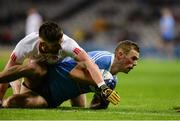 11 February 2017; Paul Mannion of Dublin in action against Pádraig Hampsey of Tyrone during the Allianz Football League Division 1 Round 2 match between Dublin and Tyrone at Croke Park in Dublin. Photo by Daire Brennan/Sportsfile