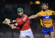 11 February 2017; Daniel Kearney of Cork in action against Cathal Malone of Clare during the Allianz Hurling League Division 1A Round 1 match between Cork and Clare at Páirc Uí Rinn in Cork. Photo by Matt Browne/Sportsfile