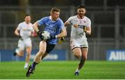 11 February 2017; Ciaran Reddin of Dublin in action against Pádraig Hampsey of Tyrone during the Allianz Football League Division 1 Round 2 match between Dublin and Tyrone at Croke Park in Dublin. Photo by Sam Barnes/Sportsfile