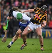 12 February 2017; Tom Devine of Waterford in action against Conor O'Shea of Kilkenny during the Allianz Hurling League Division 1A Round 1 game between Kilkenny and Waterford at Nowlan Park in Kilkenny. Photo by Ray McManus/Sportsfile