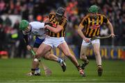 12 February 2017; Tom Devine of Waterford in action against Conor O'Shea, centre, and Shane Prendergast of Kilkenny during the Allianz Hurling League Division 1A Round 1 game between Kilkenny and Waterford at Nowlan Park in Kilkenny. Photo by Ray McManus/Sportsfile
