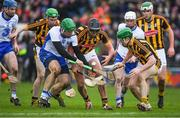 12 February 2017; Tom Devine of Waterford in action against Conor O'Shea, centre, and Paul Murphy of Kilkenny during the Allianz Hurling League Division 1A Round 1 game between Kilkenny and Waterford at Nowlan Park in Kilkenny. Photo by Ray McManus/Sportsfile