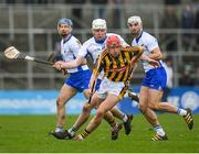 12 February 2017; Cillian Buckley of Kilkenny in action against Shane Barrett of Waterford during the Allianz Hurling League Division 1A Round 1 game between Kilkenny and Waterford at Nowlan Park in Kilkenny. Photo by Ray McManus/Sportsfile