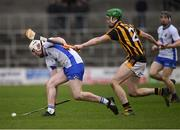 12 February 2017; Shane Barrett of Waterford in action against Joey Holden of Kilkenny during the Allianz Hurling League Division 1A Round 1 game between Kilkenny and Waterford at Nowlan Park in Kilkenny. Photo by Ray McManus/Sportsfile